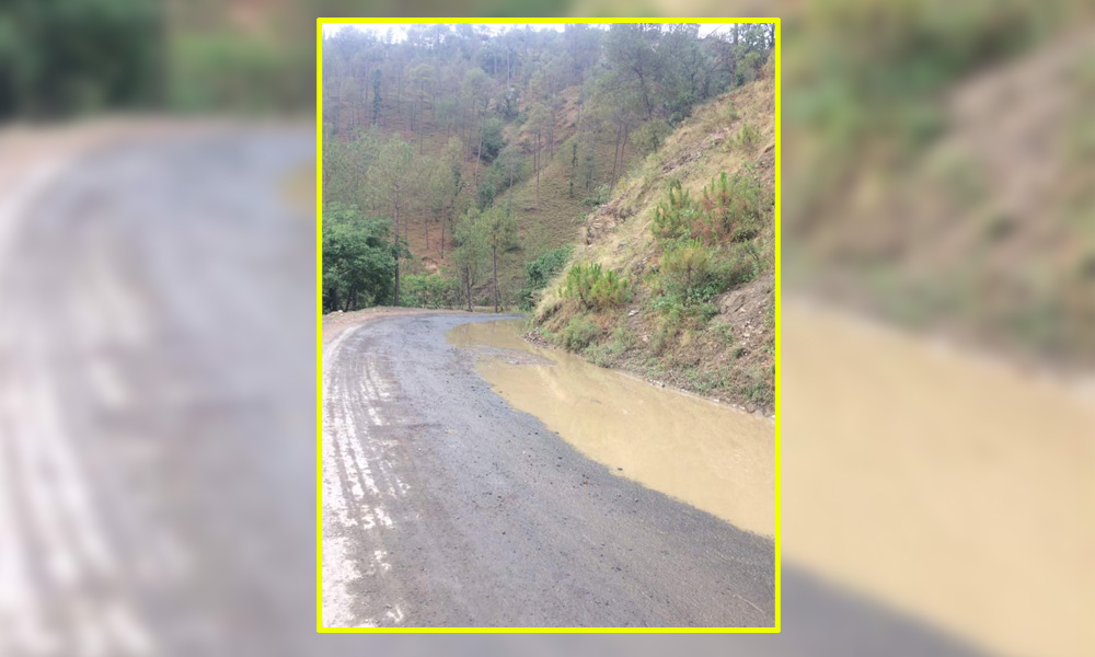 APGOYAL-university-shoghi-bye-pass-road-in-a-pathetic-condition