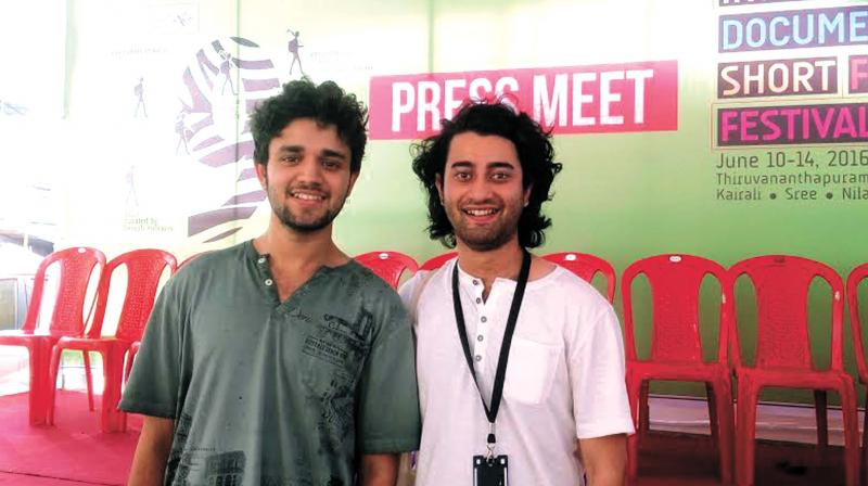 Actor Mohit Singh Parmar with Siddharth Chauhan