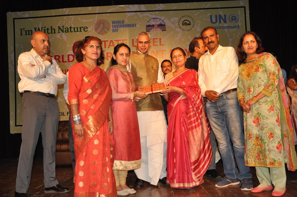 From Himachal World Environment Day Celebration