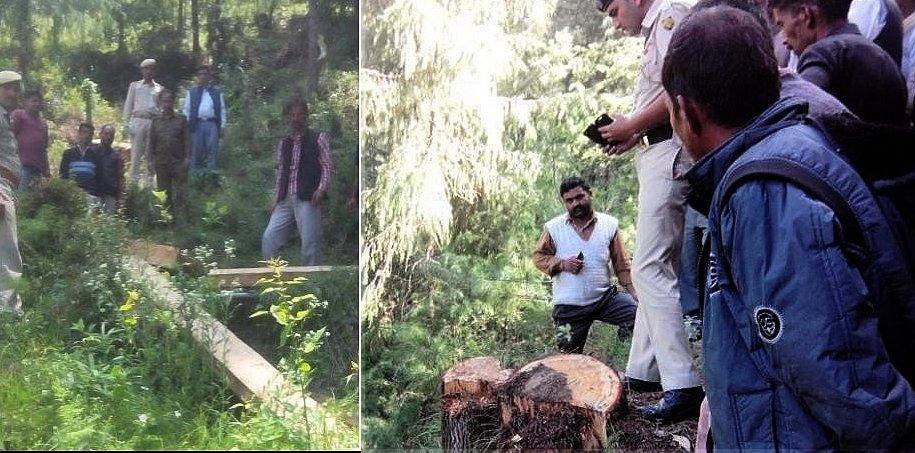 mandi forest gaurd murder case