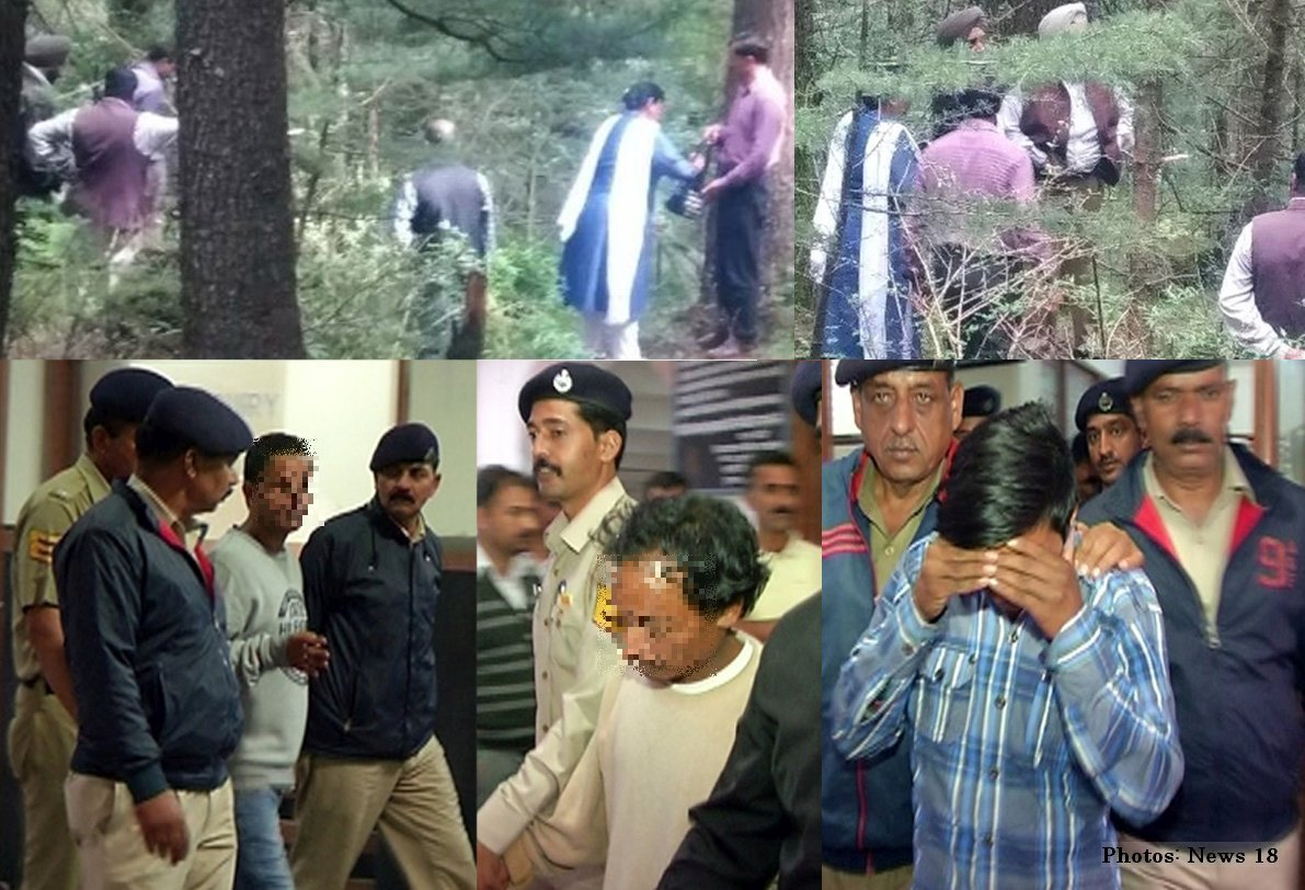 Kotkhai Gangrape Accused pictures