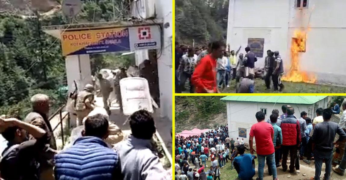 kotkhai-police-station-ransacked