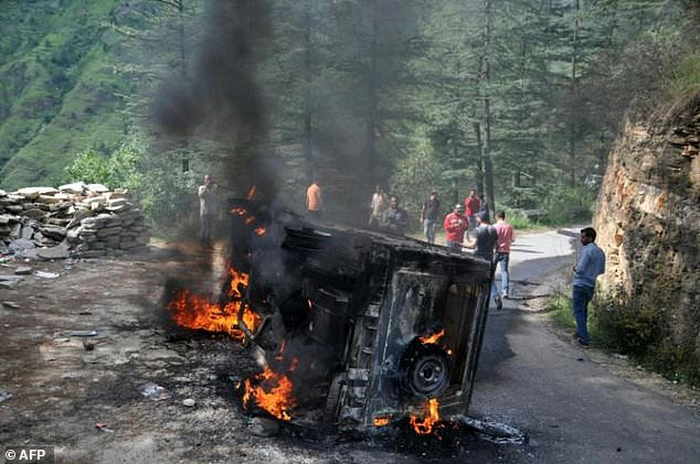 Shimla Riots and protests over kotkhai
