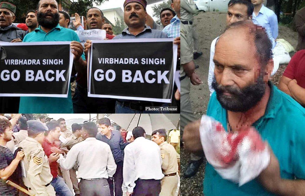 Dharamsala gaddi community protest