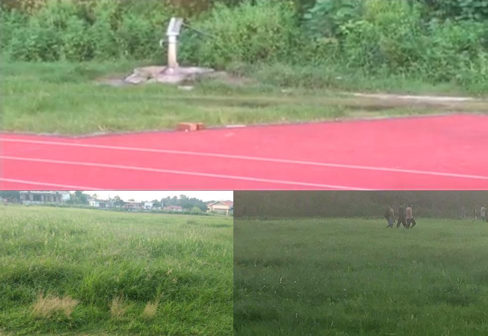 hamirpur degree college athletic track
