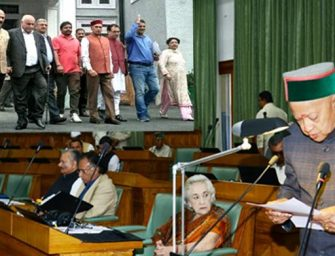 HP Assembly Monsoon Session: BJP stages noisy walkout on first day