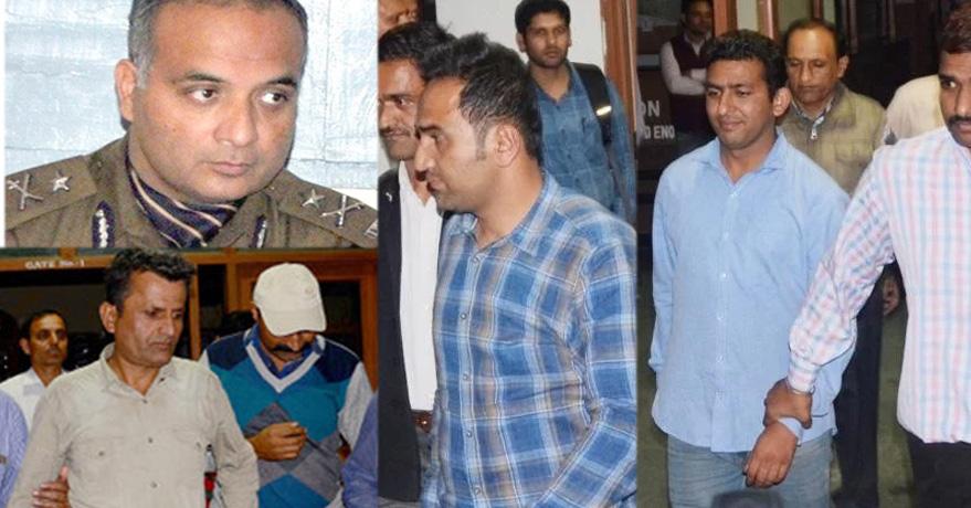 HP POlice IG Zahur Zaidi arrested