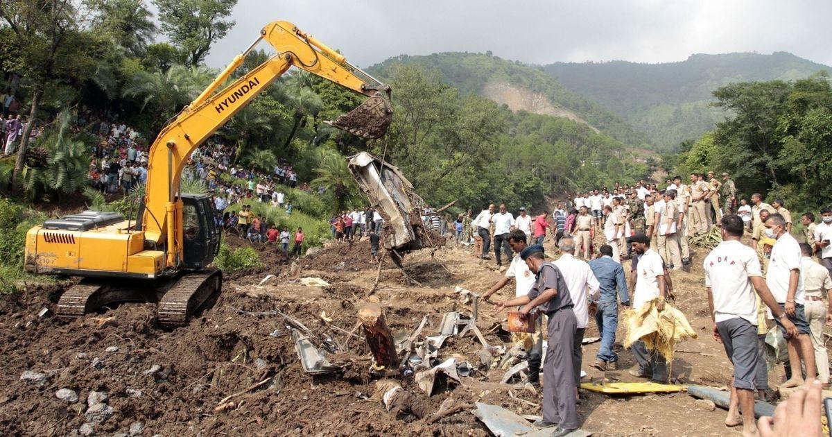 Mandi landslide rescue operation