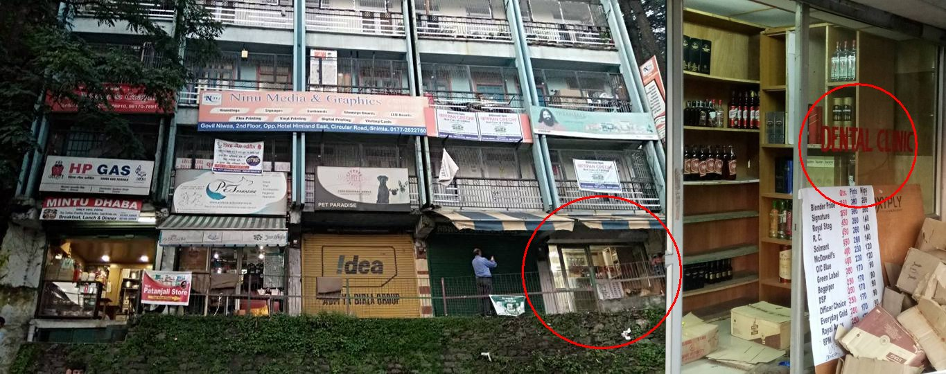 shimla liquor shop near girls school