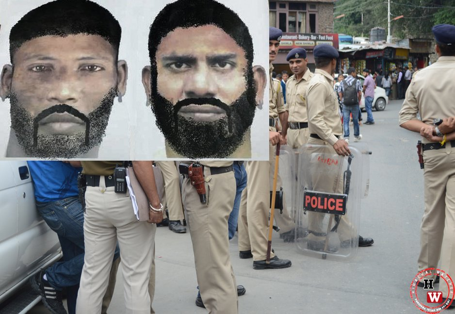 Solan shooting suspect sketches