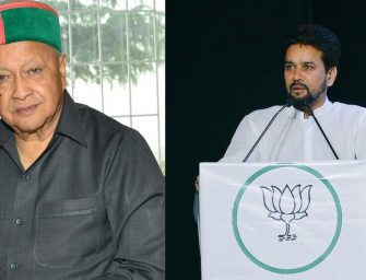 CM Virbhadra owes his popularity to corruption cases: Anurag
