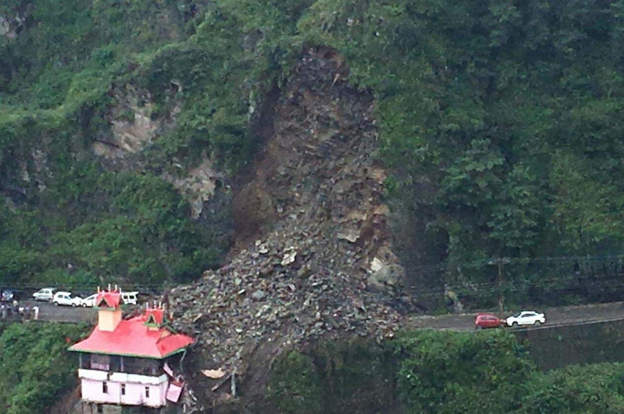 dhalli landslide