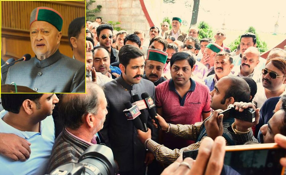 Himachal CM's Son Vikramaditya to contest polls