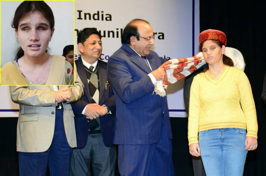 Himachal youth icon muskan thakur