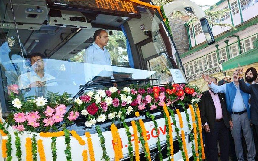 HPTDC Shimla Delhi Volvo Service