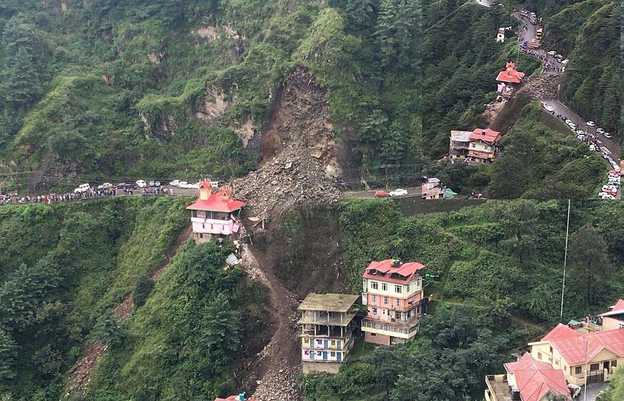 Landslide in Shimla