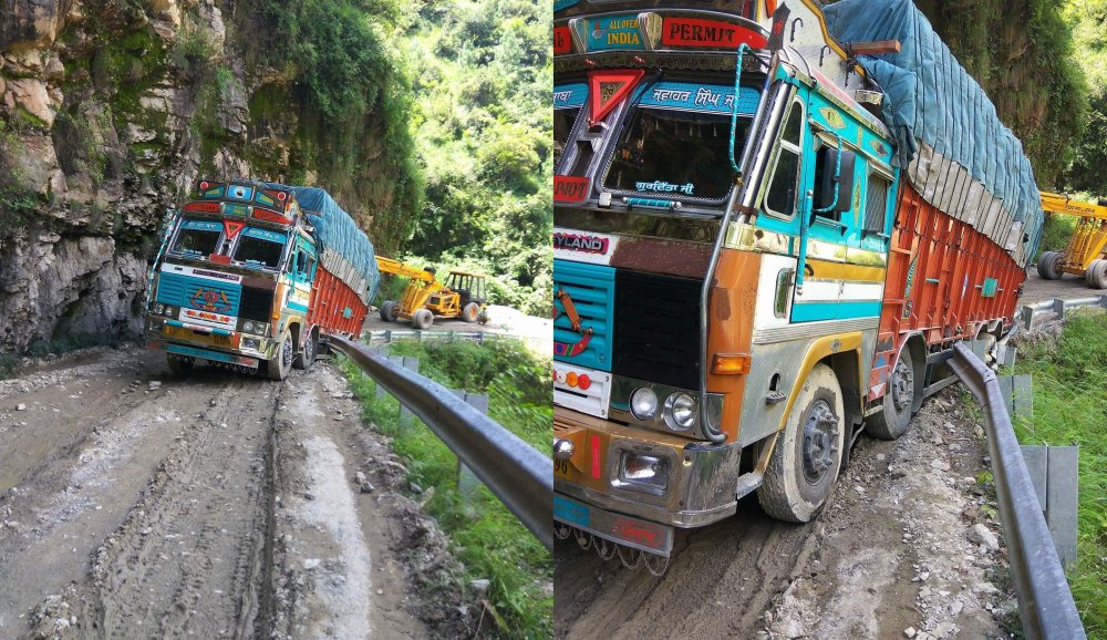 Mehi-Shoghi bypass road condition