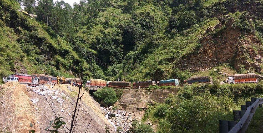 Mehli-shoghi bypass in Shimla 3