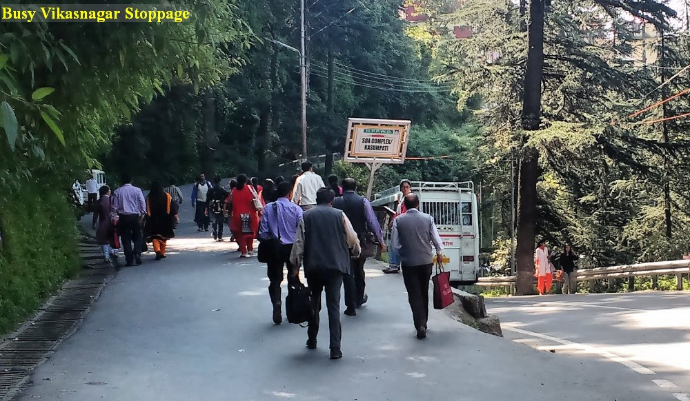 Shimla footpaths