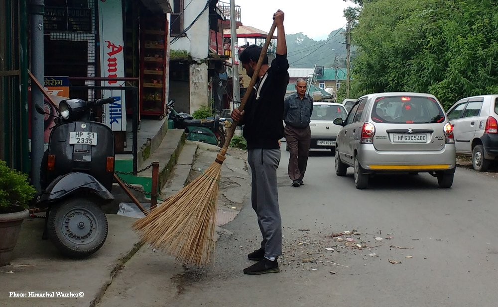 shimla sanitation worker strike ends