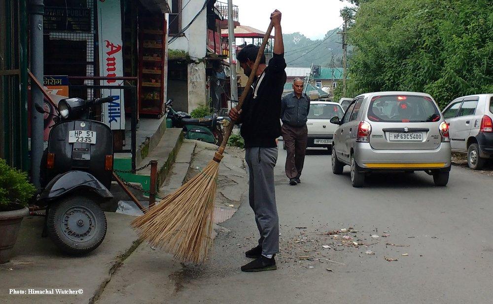 shimla sanitation worker strike ends