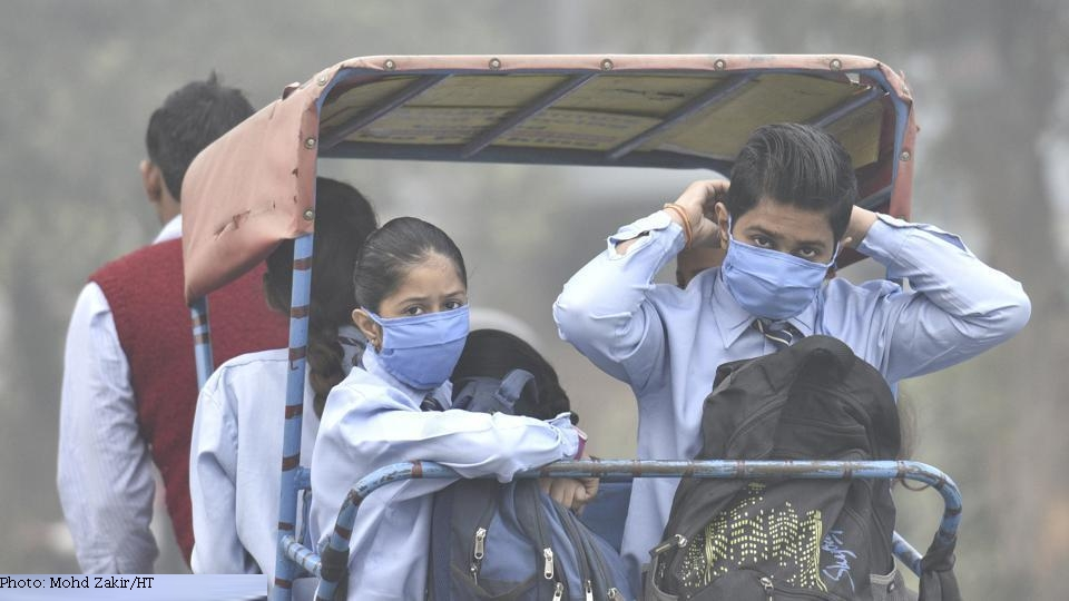 air pollution deaths in India