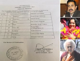 Second list of 9 Congress candidates released, Stokes out, Vikramaditya in