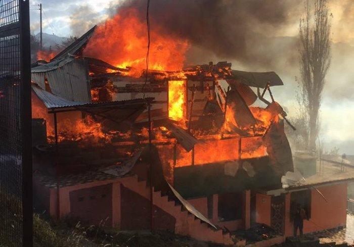 Jubbal Fire breakout