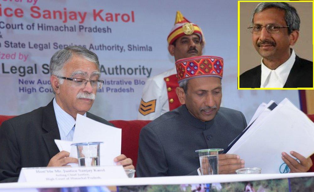 Justice sanjay karol with Justice Goel