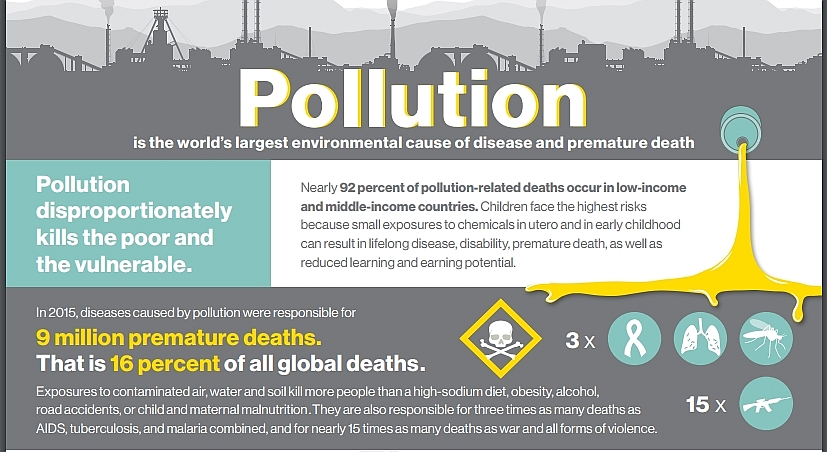 Pollution Deaths in India