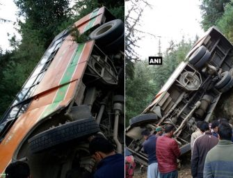 Bus falls into gorge in Shimla's Rampur, 2 killed, 10 injured