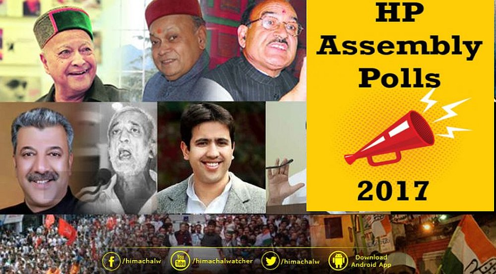Total candidates for HP Assembly Polls 2017 final