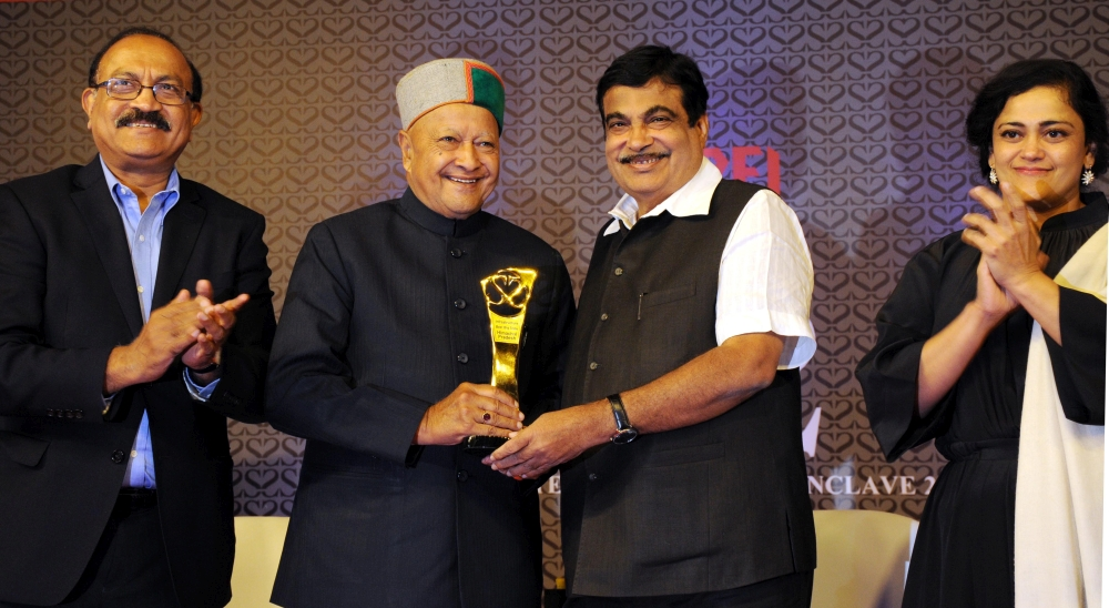Best Big State Award to Himachal Pradesh