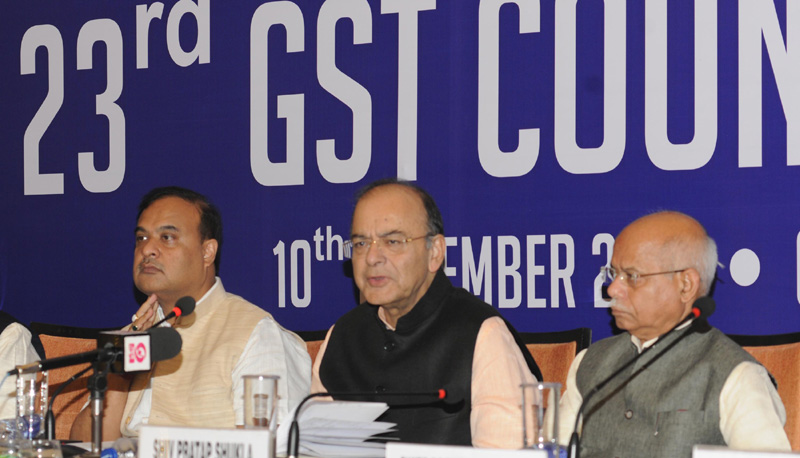 GST reduced in 23 gst council meeting