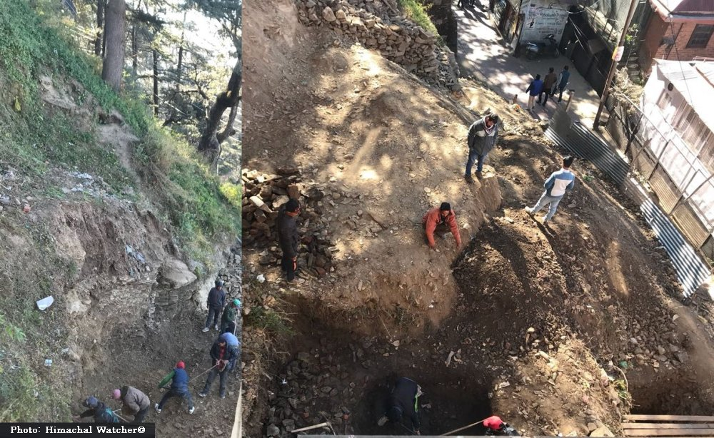 Illegal construction in Shimla's core area