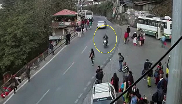 Shimla Hit and Run Video