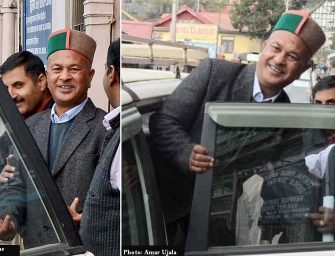 Former SP Shimla DW Negi seen smiling on his special day