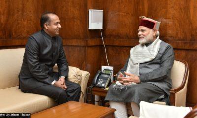 HP CM Jairamthakur with Modi