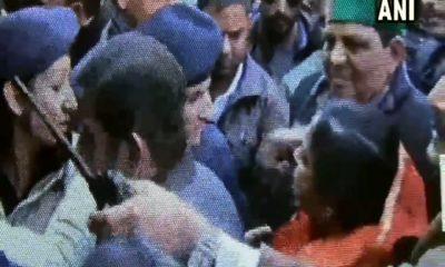 MLA AshaKumari slaps police