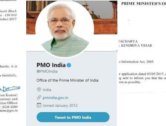 PM Modi's Twitter handle for tours, speeches, updates only; not for complaints, says RTI
