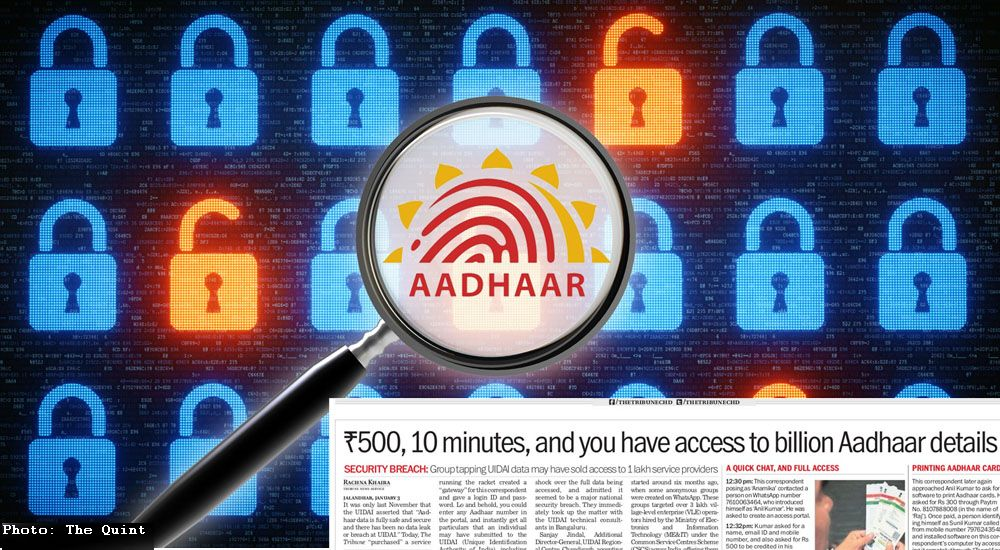 Aadhaar Card On Sale