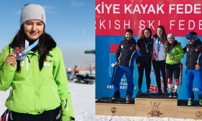 Anchal Thakur of Manali wins skiing medal