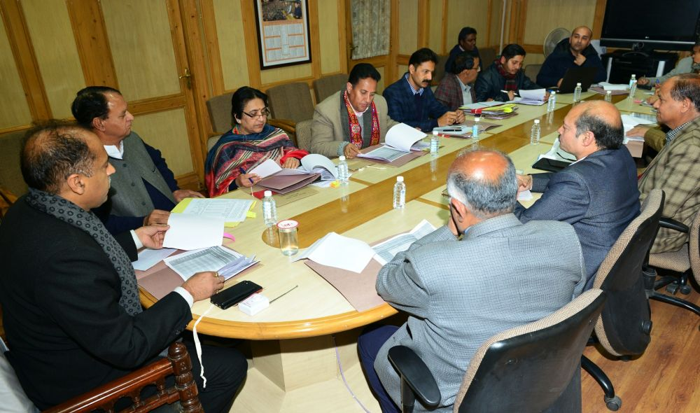 HP govt meeting on drought like situation in Himachal Pradesh