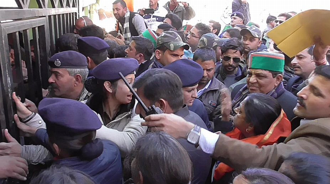 MLA Asha Kumari arrest