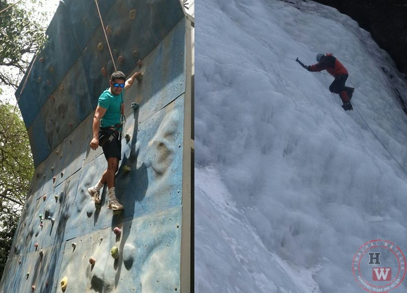BSF Mountaineering training
