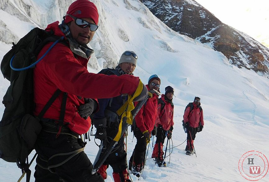 BSF Mt. Everest expedition training