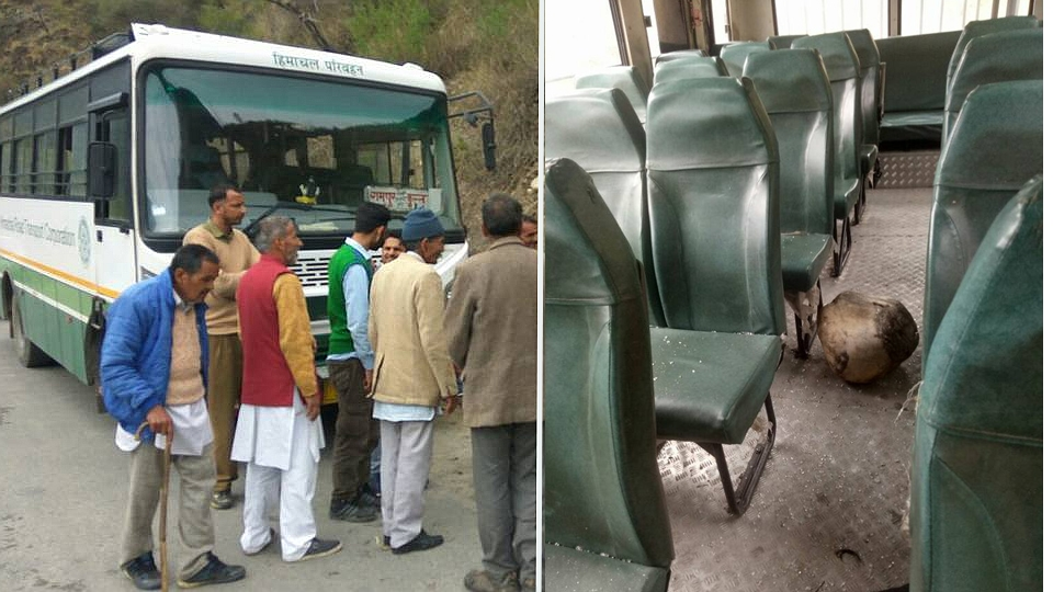 Bizzare Bus Accident in Himachal's Kullu