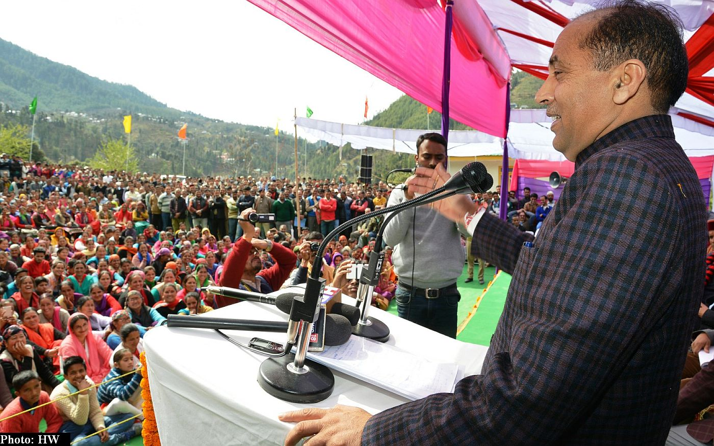 Jairam Thakur's Seraj visit in march 2018