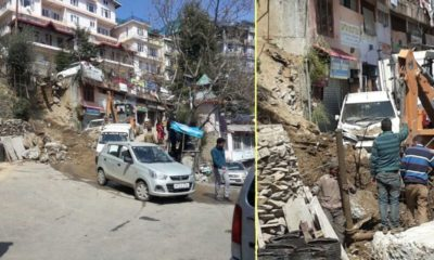 landslide in new Shimla