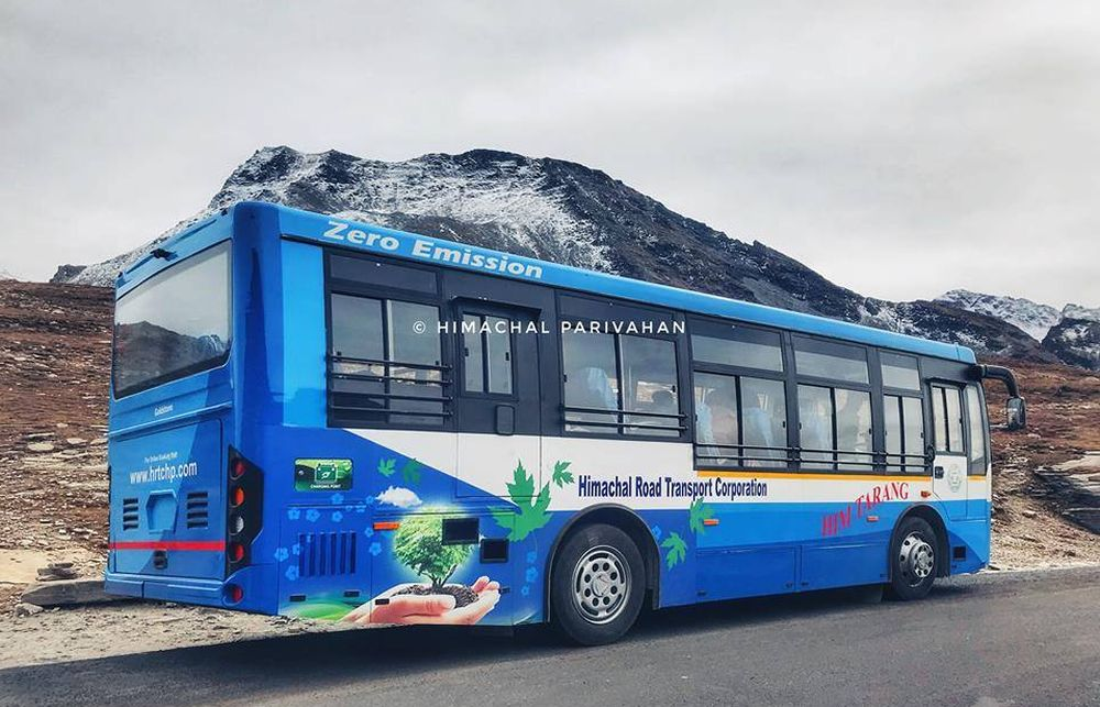 Electric bus service in Rohtang cancelled
